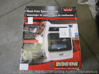 DYNA GLO VENT-FREE SPACE HEATER