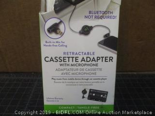 ReTrak Retractable Cassette Adapter