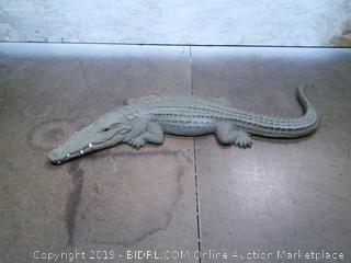 Crocodile Garden Decor