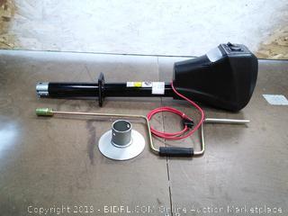 Power Tongue Jack Black (online $179) missing hardware