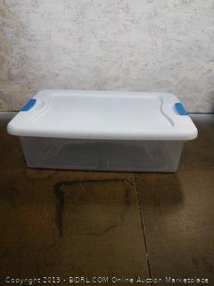 Sterilite Latching Box