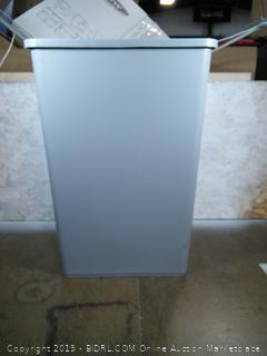 Rubbermaid 35 gallon Capacity Untouchable Rigid Waste Square Container (online $114)