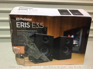 ERis E3.5 Active Media Reference Monitors/Speakers