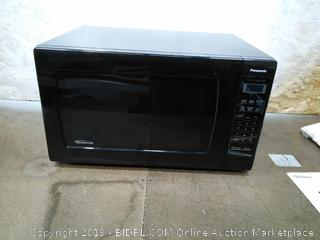 Panasonic 1.6 Cu. Ft. Stainless Steel Microwave with Inverter, NN-SN766S