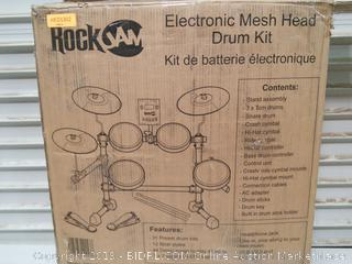 RockJam Mesh Head Kit, Eight Piece Electronic Drum Kit (online $269)