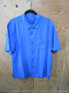 Mens Tommy Bahama Button Up- L