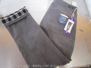 Womens Fleece Jeans- 14