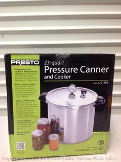 Presto 23 QT Pressure Canner & Cooker (Online $75.99)