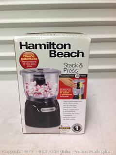 Hamilton Beach Stack & Press