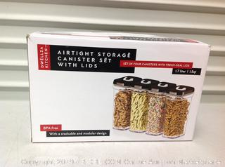 Airtight Storage Containers with Lids