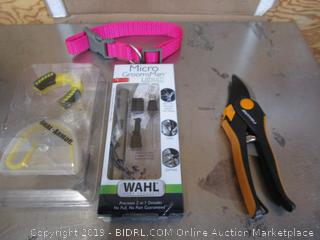 Bush Clippers, Mouth Guard & Wahl Grooming Kit