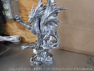 Dragon Statue & Blade