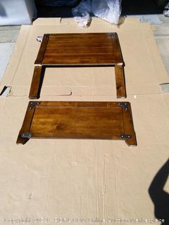 Ashley Furniture Signature Delburne Panel Headboard/Footboard Twin Medium Brown