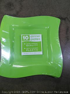 Dinner Plates Heavyweight Plastic
