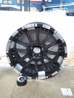 Mamba Black Wheel (scratches on back)