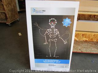 LED Decor Dancing Skeleton