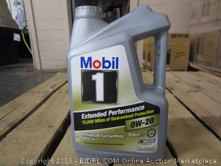 Mobil 1 0W-20 Advanced Full Synthetic Motor Oil