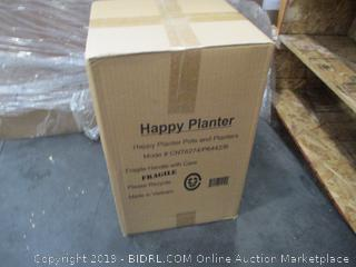 Happy Planter Pots and Planters