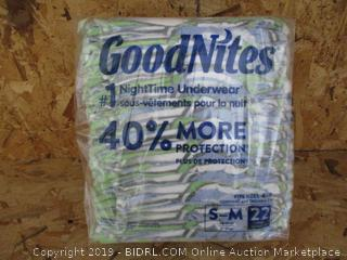 Overnight Underwear Size S-M