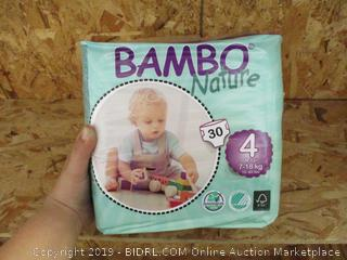 Bambo Nature Diapers 4