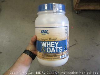 Whey & Oats Protein