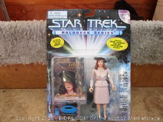 Star Trek Holodeck Series Dr. Beverly Crusher in 1940's Attire