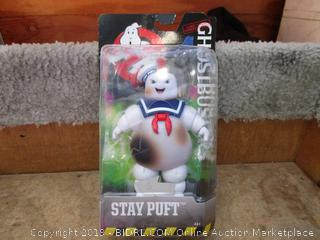 "Ghostbusters 6"" Stay Puft Marshmallow Man Ghost Figure"