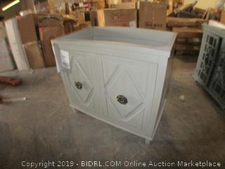 single bathroom cabinet furniture item