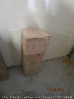 "8"" memory foam pressure relief mattress - twin size"