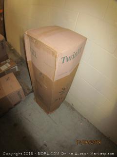 "8"" memory foam mattress - twin XL"