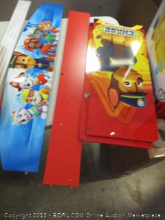 Paw Patrol deluxe book & toy organizer
