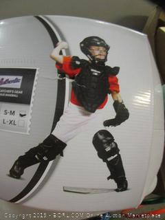 wilson catcher's gear uniform