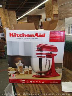 Kitchen Aid tilt-Head Stand Mixer (Powers On)