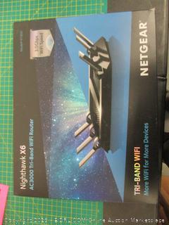 Nighthawk x6 AC3000 Tri-Band WiFI Router