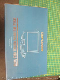 Digital Multimedia Portable Video Player