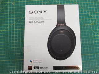 Sony Wireless Noise Cancelling Stereo Headset
