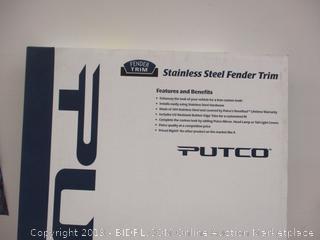 Stainless Steel Fender Trim (Sealed)
