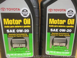 Toyota Motor Oil