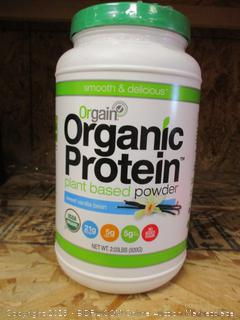 Organic Protein Plant Based Powder