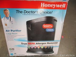 Honeywell Air Purifier (Powers On)