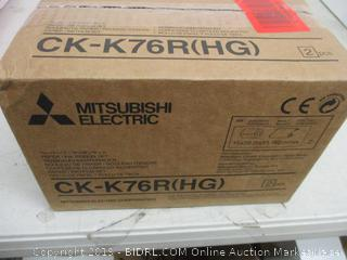 Mitsubishi Electric Paper/Ink Ribbon Set