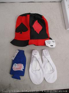 Hat/ Ballet Shoes/Beverage Sleeve