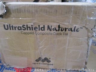UltraShield Naturale Capped Composite Deck Tile