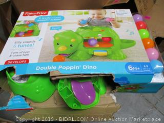 Fisher Price Double Poppin Dino