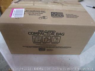 Pre-Cuffed Compactor Bag