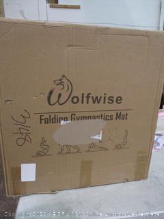 Wolfwise Folding Gymnastics Mat