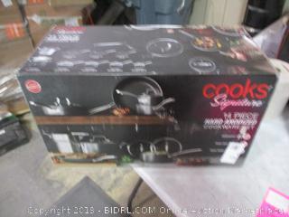 Cooks Signature Hard Anodized Cookware Set