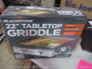 """Blackstone 22"""" Tabletop Griddle"""