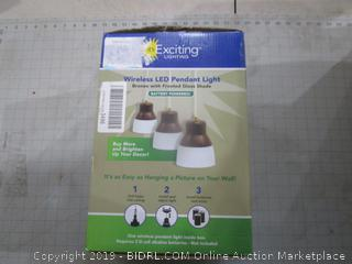 Wireless LED Pendant Light