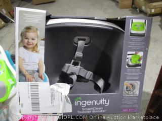 Ingenuity Smart Clean Toddler Booster